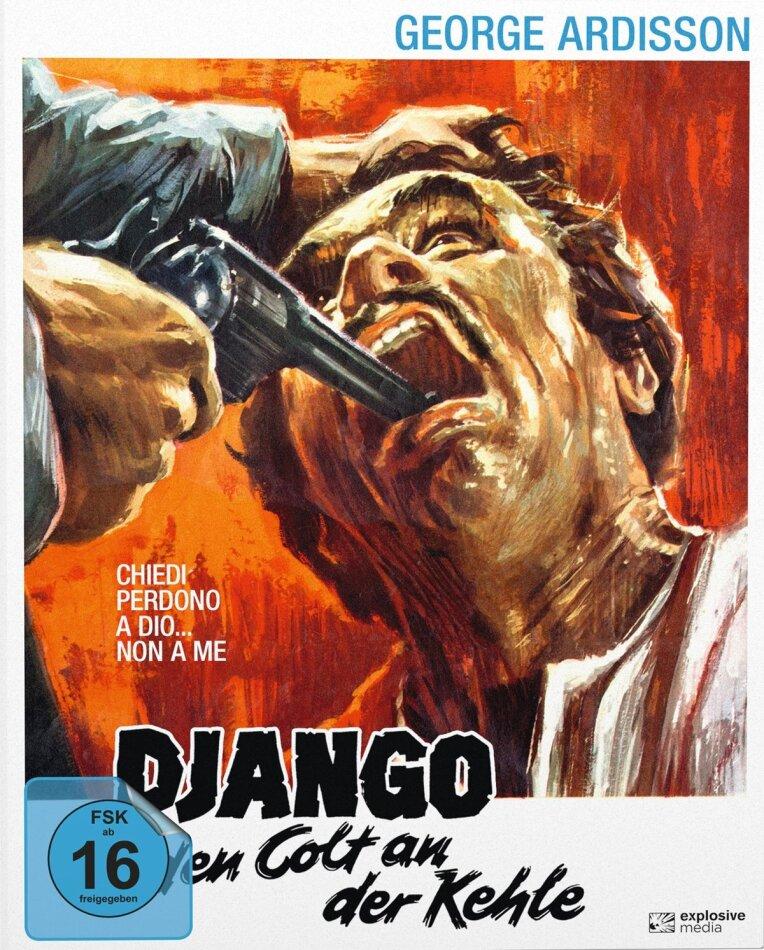 Django - Den Colt an der Kehle (1968) (Cover B, Mediabook, Blu-ray + DVD)