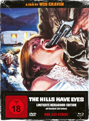 The Hills Have Eyes (1977) (Cover B, Edizione Limitata, Mediabook, Blu-ray + DVD)