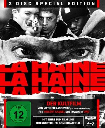 La Haine - Hass (1995) (+ T-Shirt, s/w, Special Edition, 4K Ultra HD + 2 Blu-rays)