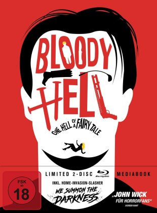Bloody Hell - One Hell of a Fairy Tale (2020) (+ Bonusfilm, Limited Edition, Mediabook, 2 Blu-rays)