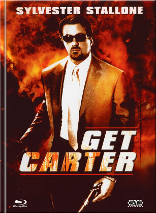 Get Carter (2000) (Cover B, Limited Collector's Edition, Mediabook, Blu-ray + DVD)