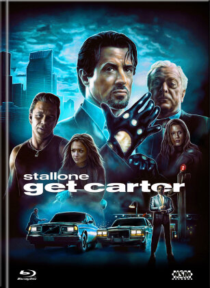 Get Carter (2000) (Cover C, Collector's Edition Limitata, Mediabook, Blu-ray + DVD)