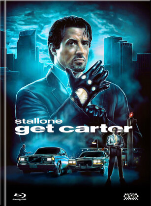 Get Carter (2000) (Cover D, Limited Collector's Edition, Mediabook, Blu-ray + DVD)