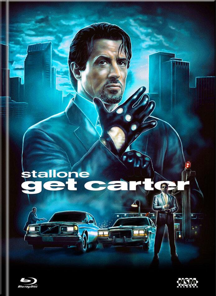 Get Carter (2000) (Cover D, Collector's Edition Limitata, Mediabook, Blu-ray + DVD)