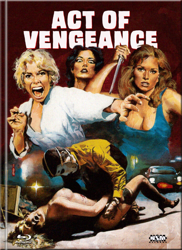 Act of Vengeance (1974) (Cover C, Limited Collector's Edition, Mediabook, Uncut, Blu-ray + DVD)