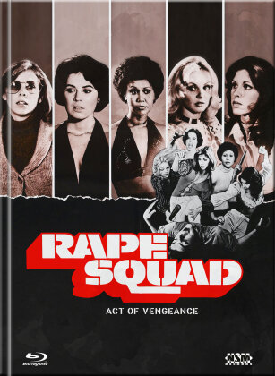 Rape Squad - Act of Vengeance (1974) (Cover D, Limited Collector's Edition, Mediabook, Uncut, Blu-ray + DVD)