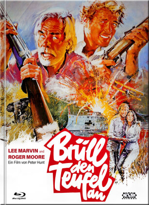 Brüll den Teufel an (1976) (Cover A, Limited Collector's Edition, Mediabook, Uncut, Blu-ray + DVD)