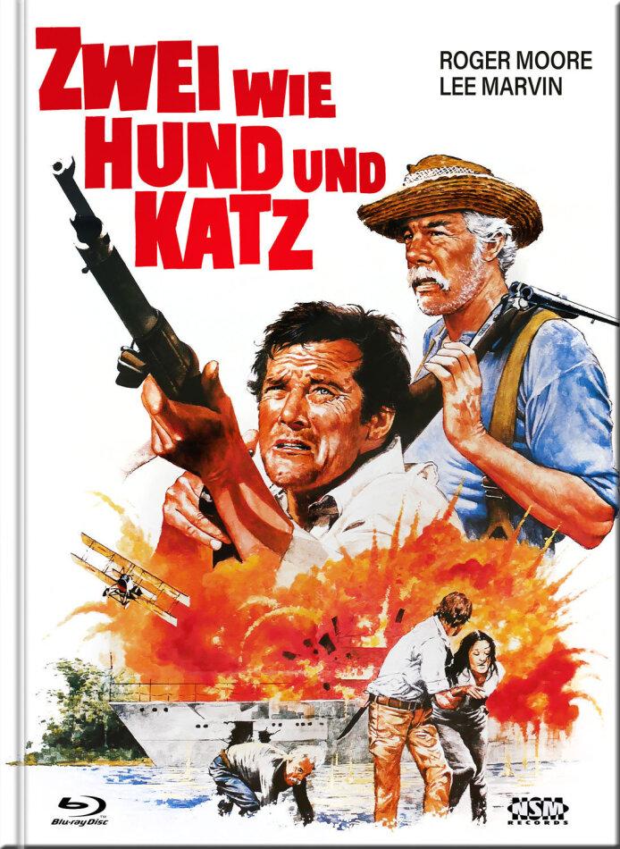 Zwei wie Hund und Katz (1976) (Cover B, Limited Collector's Edition, Mediabook, Uncut, Blu-ray + DVD)