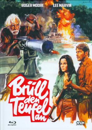 Brüll den Teufel an (1976) (Cover D, Limited Collector's Edition, Mediabook, Uncut, Blu-ray + DVD)