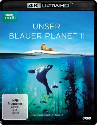 Unser blauer Planet 2 - Die komplette Serie (2017) (BBC Earth, Uncut, 3 4K Ultra HDs)