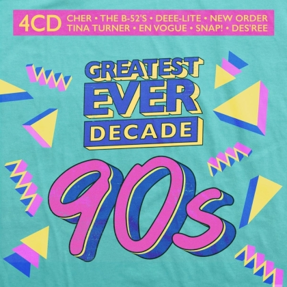 Greatest Ever Decade: The Nineties (4 CDs)
