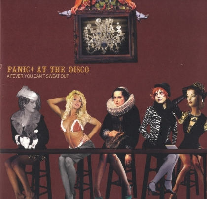Panic At The Disco - Fever That You Can't Sweat Out (2021 Reissue, 25th Anniversary Edition, Limited Edition, Silver Vinyl, LP)