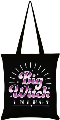 Big Witch Energy Black Tote Bag