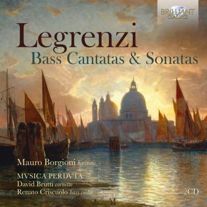 David Brutti, Giovanni Legrenzi (1626-1690), Mauro Borgioni, Renato Criscuolo, Lorenzo Antinori, … - Bass Cantatas And Sonatas