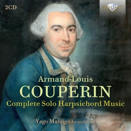 François Couperin Le Grand (1668-1733) & Yago Mahugo - Complete Solo Harpsichord Music (2 CDs)