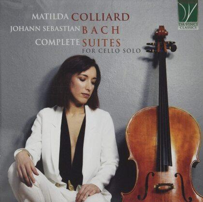 Johann Sebastian Bach (1685-1750) & Matilda Colliard - Complete Suites For Cello