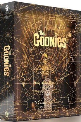 Les Goonies (1985) (Titans of Cult, + Goodies, Limited Edition, Steelbook, 4K Ultra HD + Blu-ray)