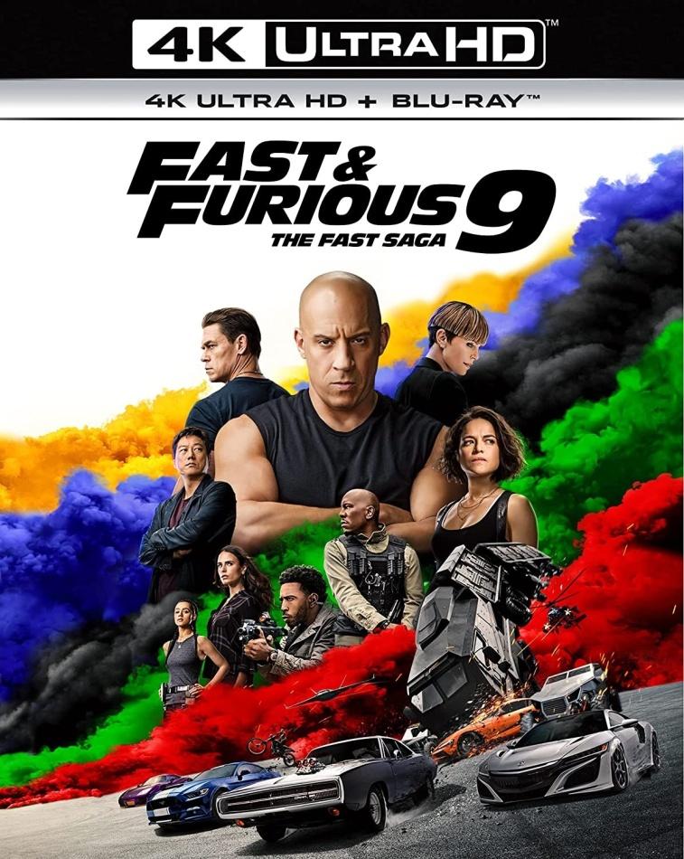 Fast & Furious 9 - The Fast Saga (2021) (4K Ultra HD + Blu-ray)