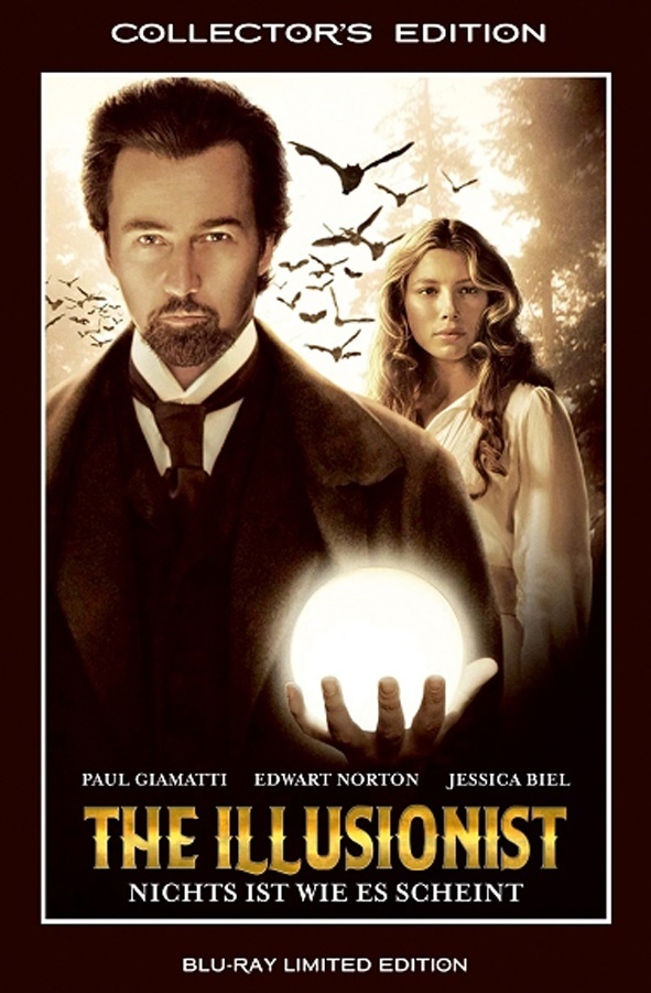 The Illusionist (2006) (Grosse Hartbox, Collector's Edition, Limited Edition)