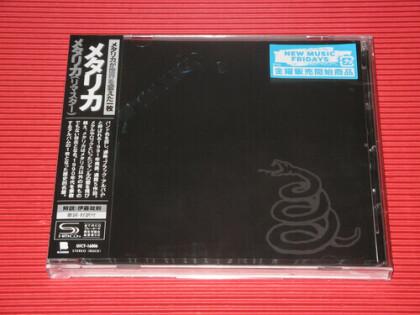 Metallica - --- (2021 Reissue, Japan Edition, Versione Rimasterizzata)