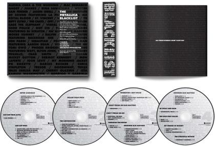 The Metallica Blacklist (Japan Edition, 4 CD)