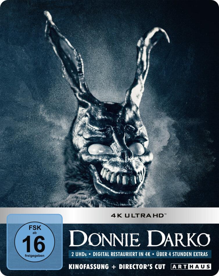 Donnie Darko (2001) (Kinofassung, Director's Cut, Limited Edition, Steelbook, 2 4K Ultra HDs)