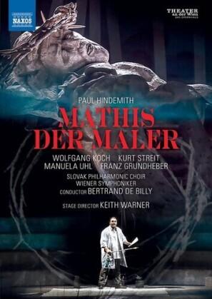 Wiener Symphoniker, Bertrand de Billy, … - Mathis Der Maler (Naxos, 2 DVDs)