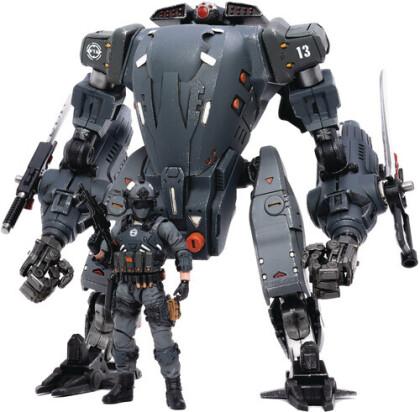 Dark Source Trading - Joy Toy North Firehammer Assault Mech 1/18 Fig (Ne