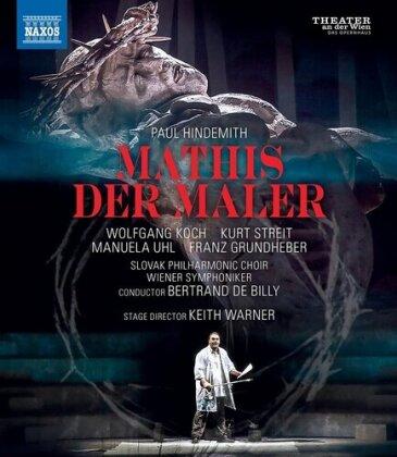 Wiener Symphoniker, Bertrand de Billy, … - Mathis Der Maler (Naxos)
