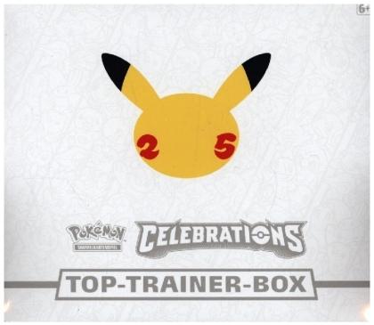 Pokémon 25th Anniversary Celebrations Top-Trainer-Box (deutsch) (Sammelkartenspiel)