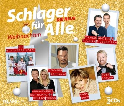 Schlager für Alle-Weihnachten 2021 (3 CDs)