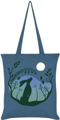 Harvest Moon - Airforce Blue Tote Bag