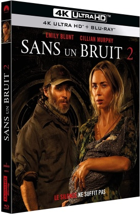 Sans un bruit 2 (2020) (4K Ultra HD + Blu-ray)