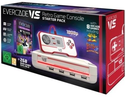 Blaze Evercade VS Starter Pack +1 Vol White