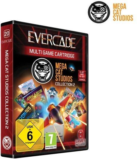 Blaze Evercade Mega Cat Cartridge 2