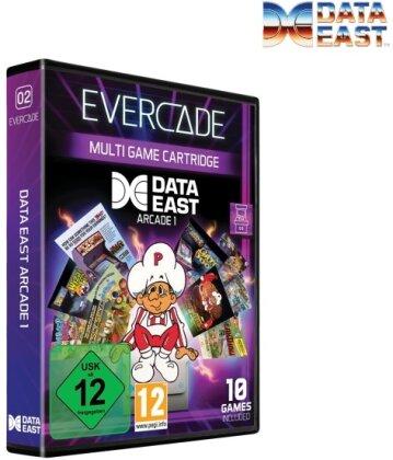 Blaze Evercade Data East Arcade Cartridge 1