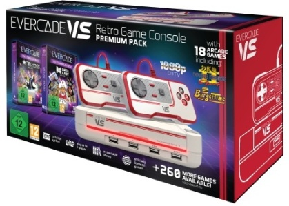 Blaze Evercade VS Premium Pack +2 Vol White