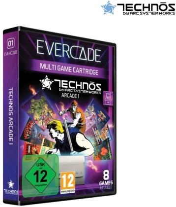Blaze Evercade Technos Arcade Cartridge 1