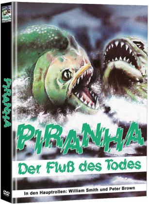 Piranha - Der Fluss des Todes (1972) (Cover A, Super Spooky Stories, Limited Edition, Mediabook, Uncut, 2 DVDs)