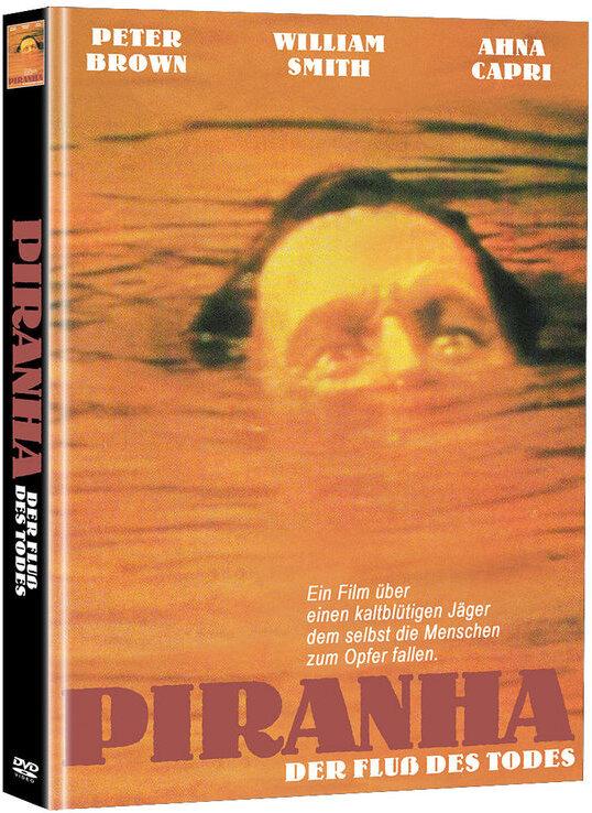 Piranha - Der Fluss des Todes (1972) (Cover B, Super Spooky Stories, Limited Edition, Mediabook, Uncut, 2 DVDs)