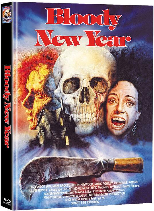 Bloody New Year (1987) (Limited Edition, Mediabook, Blu-ray + DVD)