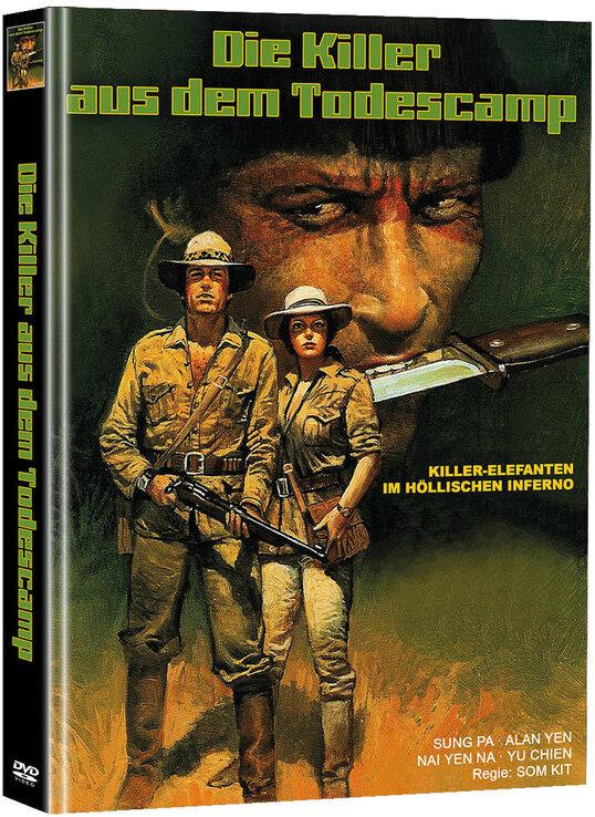 Die Killer aus dem Todescamp (1976) (Cover A, Super Spooky Stories, Edizione Limitata, Mediabook, 2 DVD)