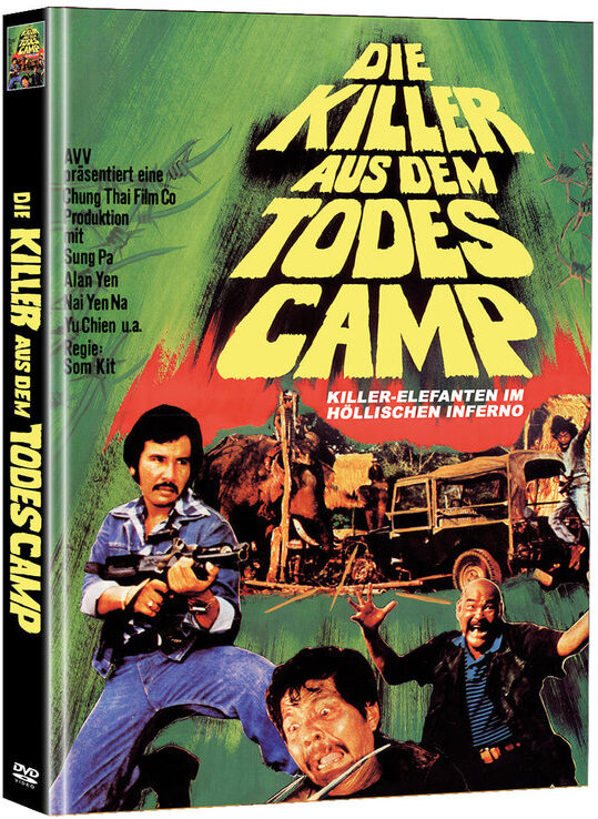 Die Killer aus dem Todescamp (1976) (Cover B, Super Spooky Stories, Edizione Limitata, Mediabook, 2 DVD)