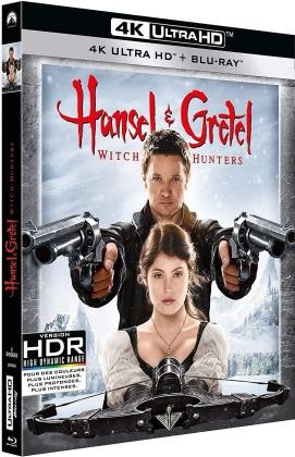 Hansel et Gretel - Witch Hunters (2013) (4K Ultra HD + Blu-ray)