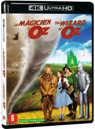 Le magicien d'Oz (1939) (4K Ultra HD + Blu-ray)