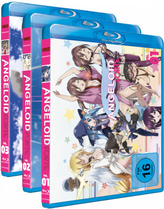 Angeloid - Sora no Otoshimono: Forte - Staffel 2 - Vol. 1-3 (Gesamtausgabe, Bundle, 3 Blu-rays)