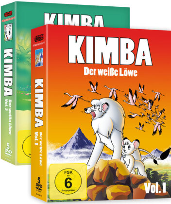 Kimba, der weisse Löwe - Vol. 1 & 2 (1965) (Gesamtausgabe, Bundle, 10 DVDs)