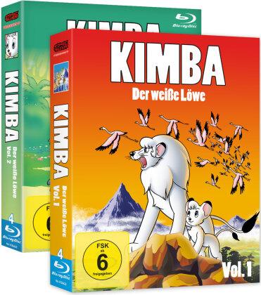 Kimba, der weisse Löwe - Vol. 1 & 2 (1965) (Gesamtausgabe, Bundle, 7 Blu-rays)