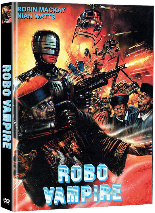 Robo Vampire (Super Spooky Stories, Limited Edition, Mediabook, 2 DVDs)