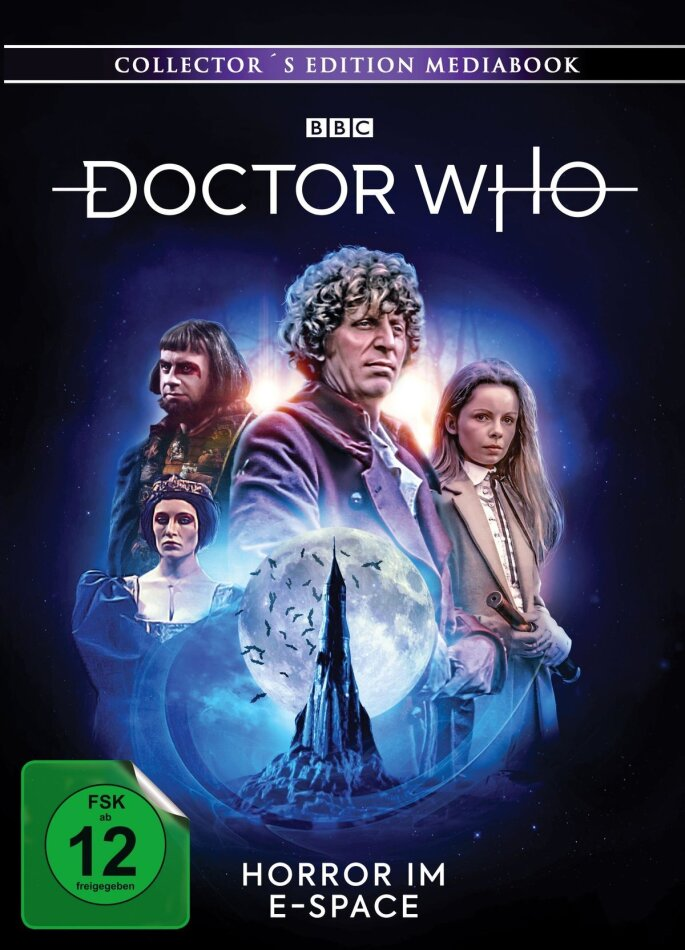 Doctor Who - Vierter Doktor - Horror im E-Space (Limited Collector's Edition, Mediabook, Blu-ray + DVD)